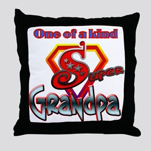 SUPER GRANDPA Throw Pillow